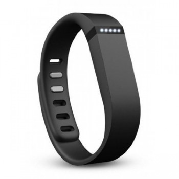 Black Replacement Wristband for Fitbit Flex
