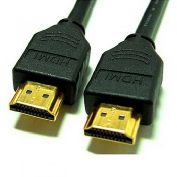 Gold Plated HDMI to HDMI Cable (1m)
