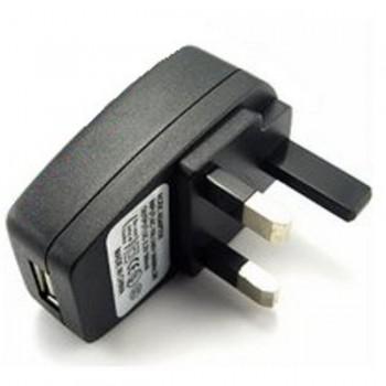 USB UK Mains Charger Adapter